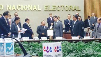 INE rechaza petición de PES para reinterpretar votos válidos