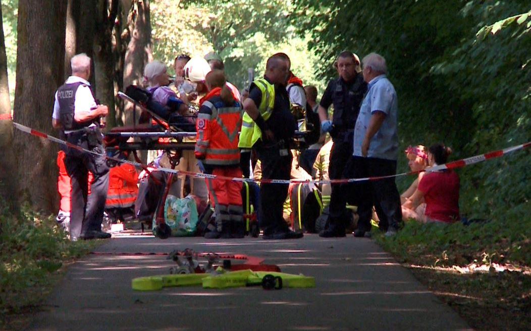 Ocho heridos en un ataque con cuchillo en autobús en Alemania