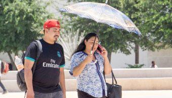 Foto: Ciudadanos toman precauciones ante las altas temperaturas, 11 mayo 2019