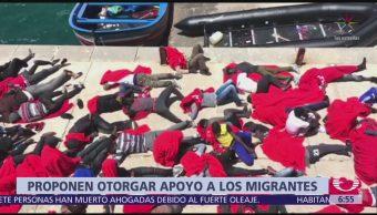 CE propone dar dinero a países que acepten a migrantes
