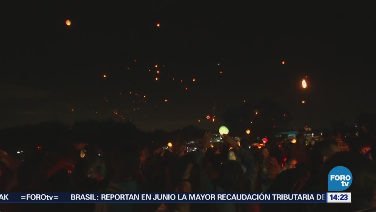 Cielo Teotihuacán Tomado Globos Cantolla