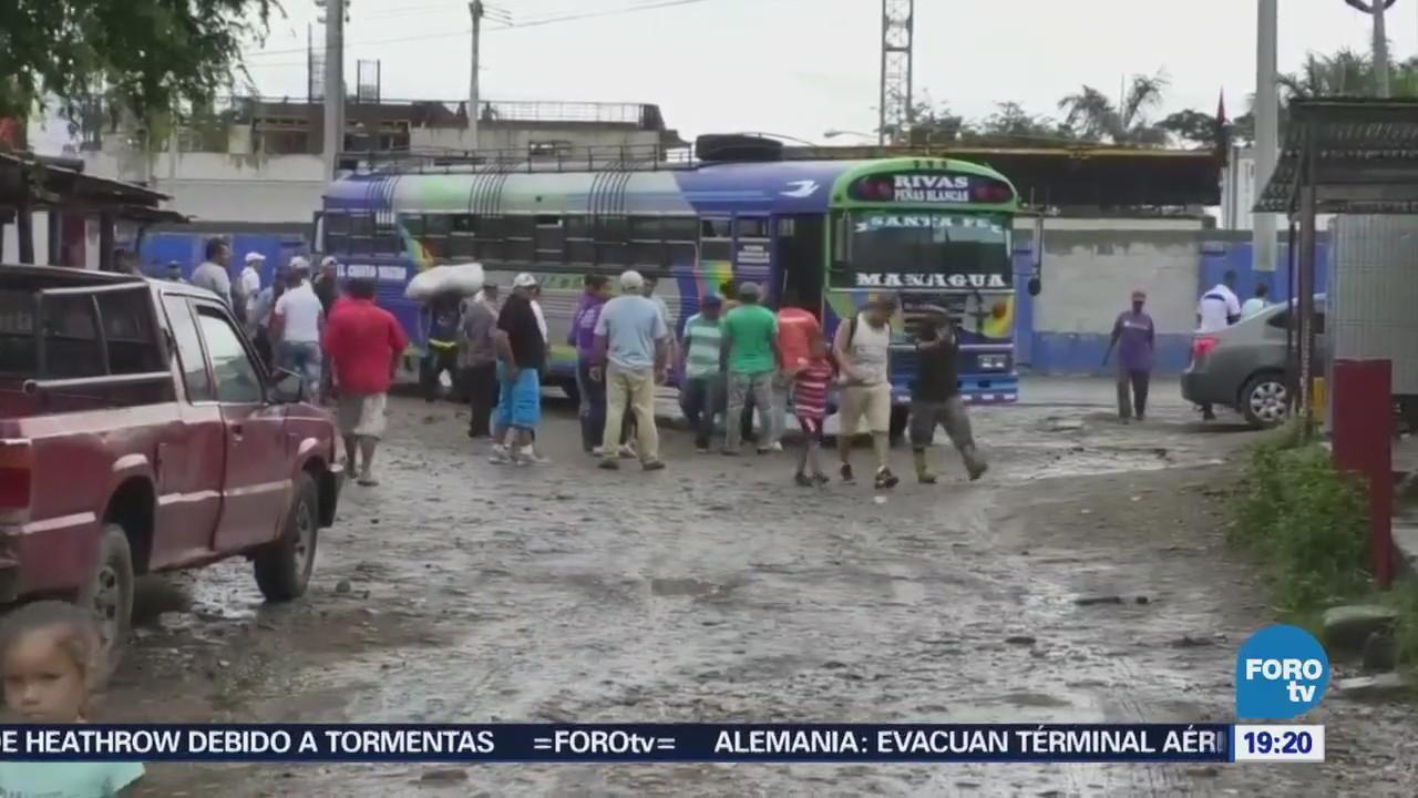 Cientos Ciudadanos Huyen Violencia Nicaragua Protestas