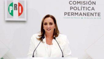 Priistas manifiestan desacuerdo en cambiar de nombre al partido
