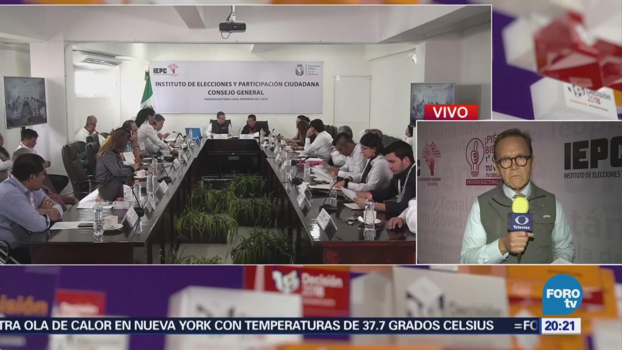 Concluye conteo del PREP en Chiapas