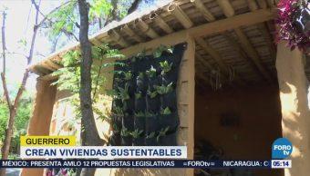 Construyen casa con material reciclado en Chilpancingo, Guerrero