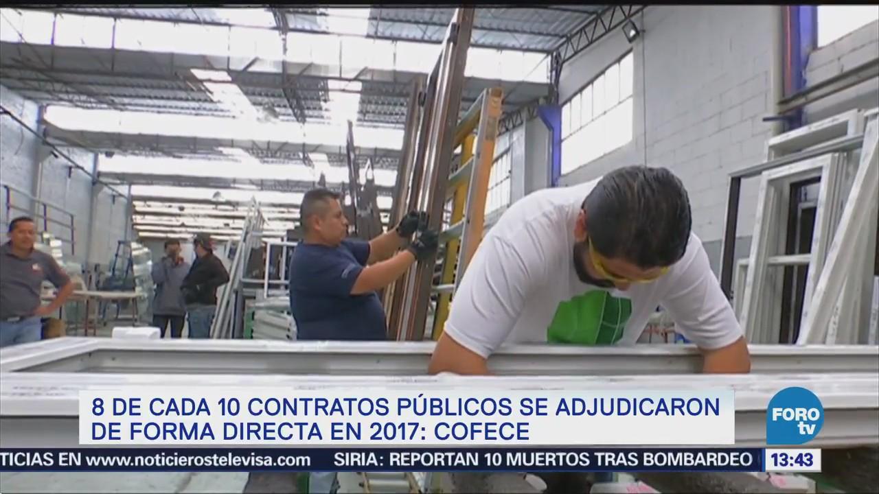 Contratos Públicos Adjudicación 8 Cada 10 Cofece