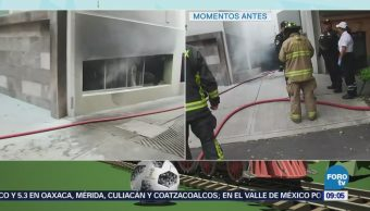 Controlan incendio en la calle Córdoba