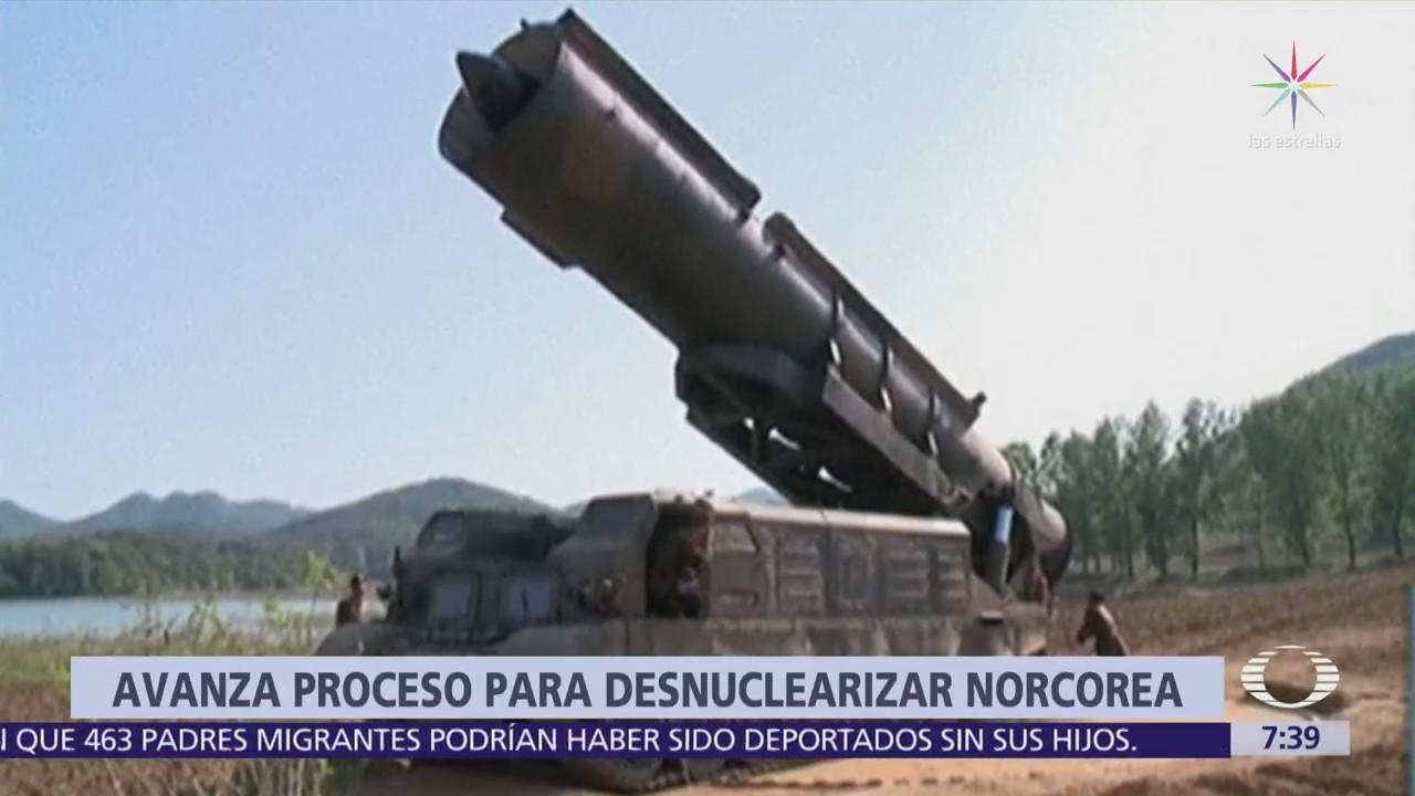 Corea del Norte desmantela instalación de prueba de misiles