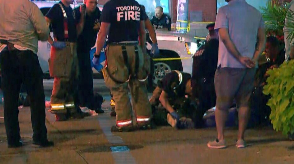 reportan tiroteo en un restaurante en Toronto