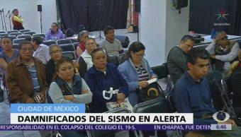 Damnificados del 19S en CDMX exigen facilitar reconstrucción