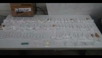 Policía Federal asegura vehículo con droga en Puebla