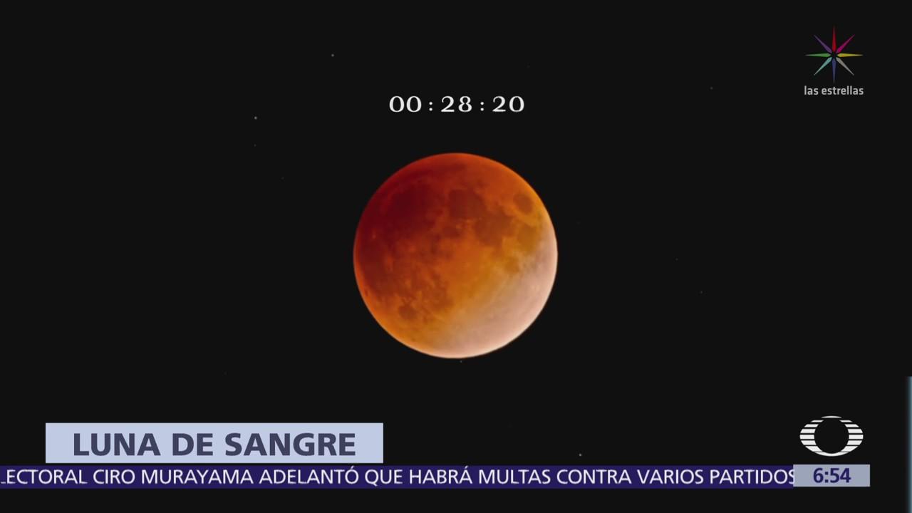 horario eclipse lunar julio 2019