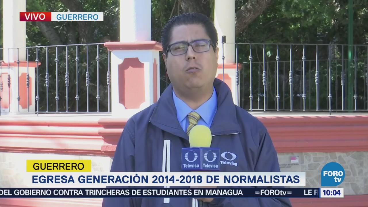 Egresa Generación 2014-2018 Normalistas Ayotzinapa