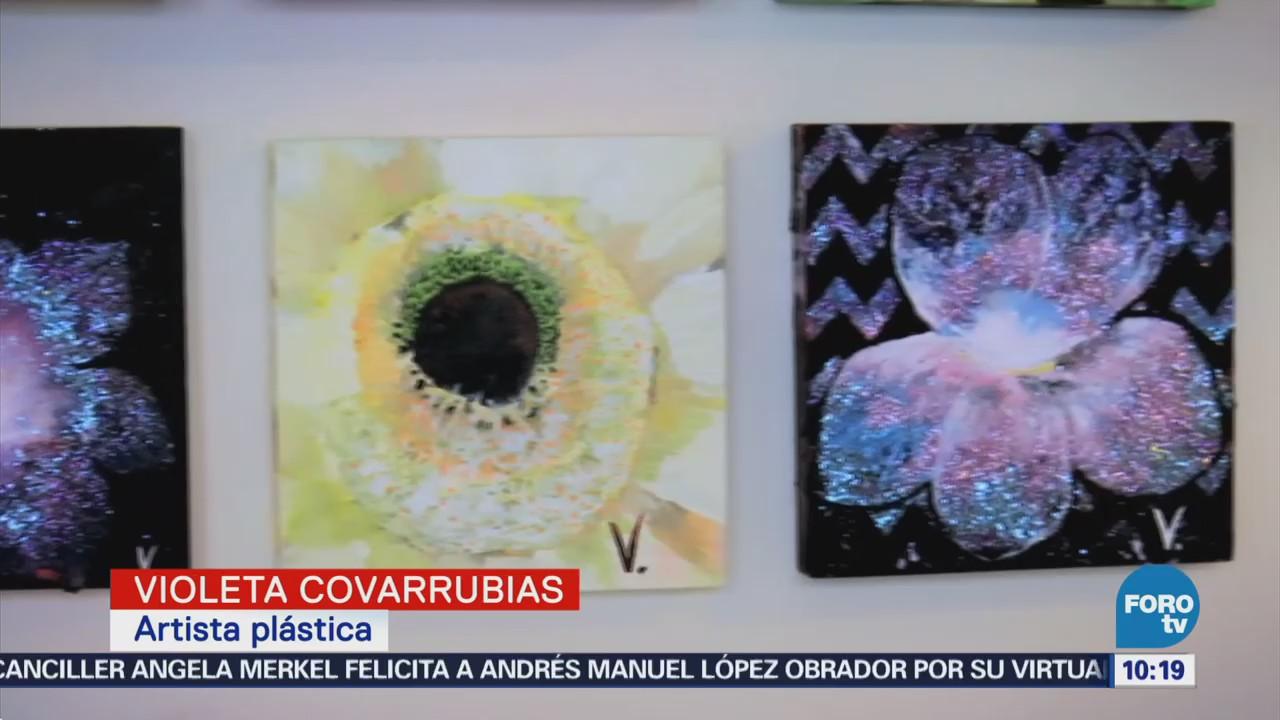 El arte de Violeta Cobarrubias