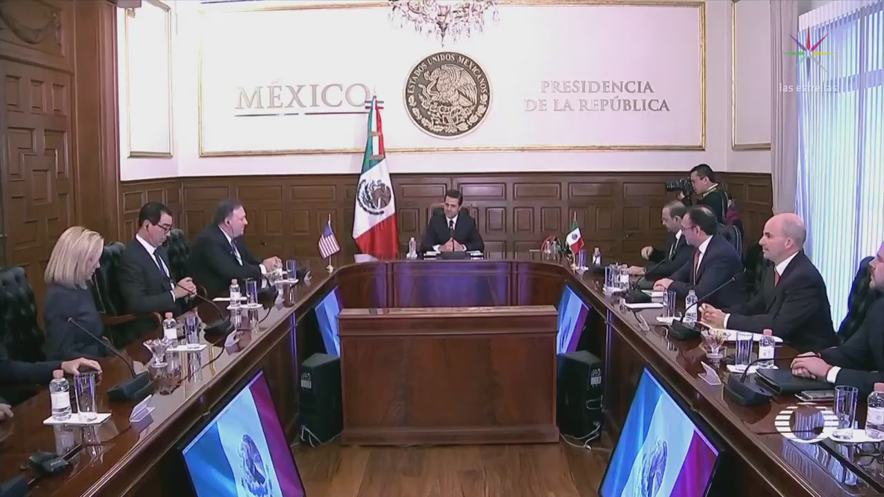 EPN Pide Mike Pompeo Reunificar Familias Migrantes