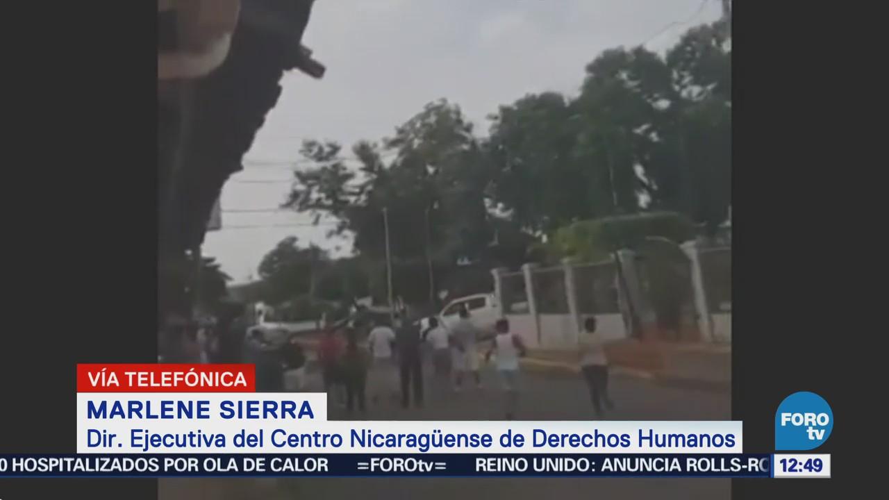 Escalada de violencia en Nicaragua