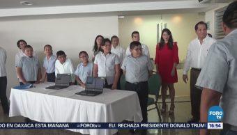 Estudiantes Campeche Aprenden Uso Nuevas Tecnologías