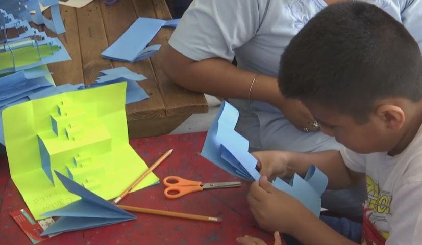 realizan guelaguetza matematicas oaxaca parque infantil
