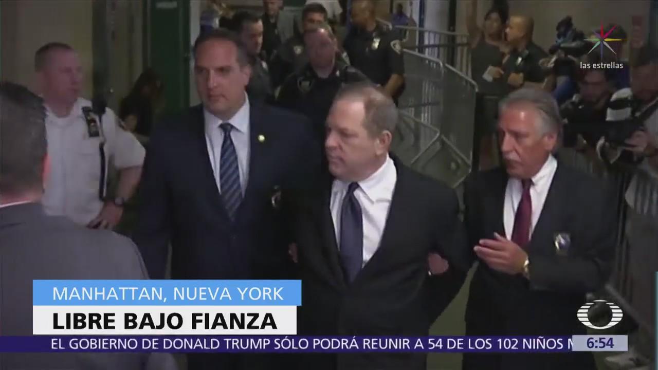 Harvey Weinstein se declara inocente de agresión sexual