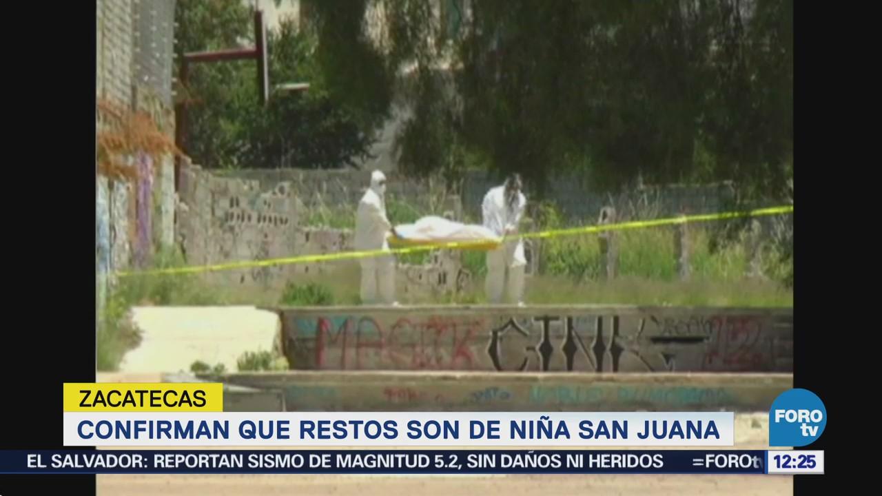 Identifican cuerpo de menor hallado en lote baldío de Zacatecas
