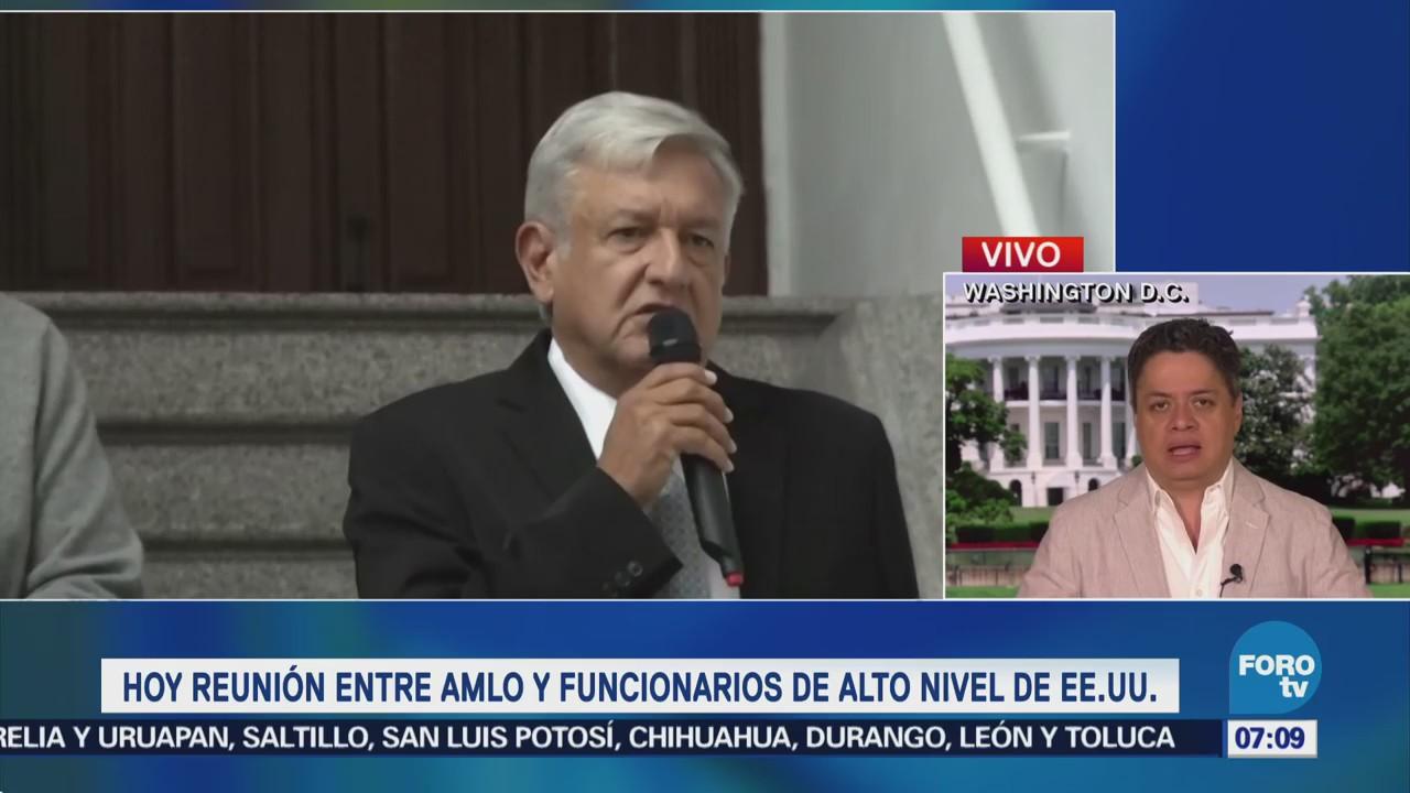 10 altos funcionarios de EU López Obrador