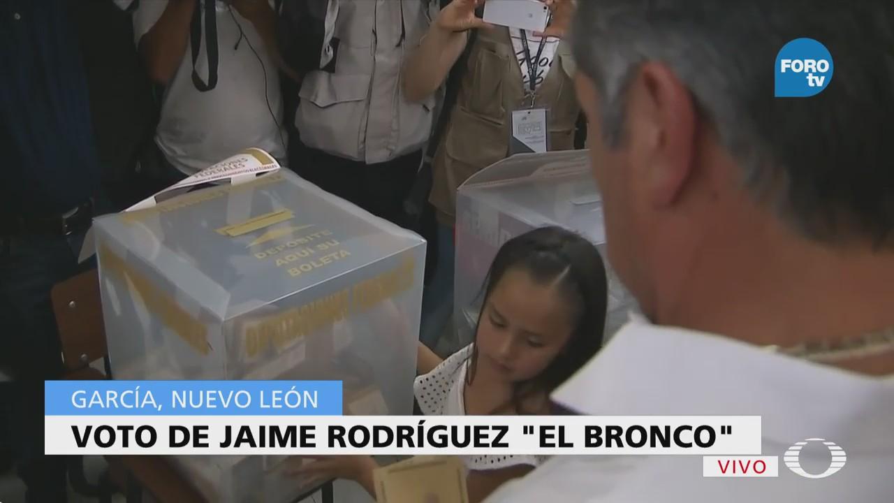 Jaime Rodríguez Calderón Emite Voto Nuevo León