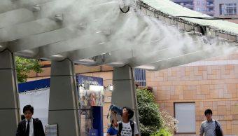 Ola de calor deja 80 muertos en Japón