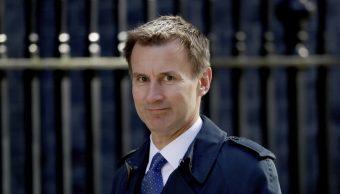 Jeremy Hunt ministro Exteriores renuncia Boris Johnson