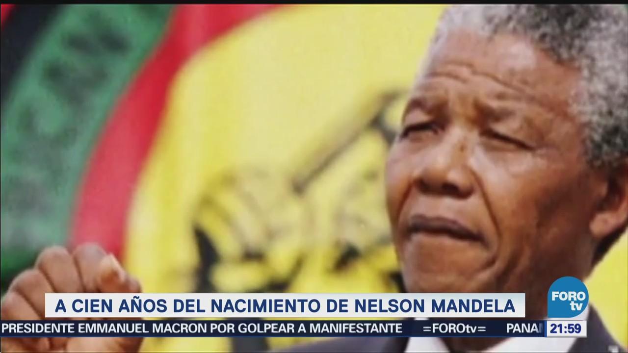 La Efeméride En Una Hora Nelson Mandela