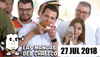 Mangas Chaleco Pri Quiere Reinventar Multan Morena Peña Celebra Pastel