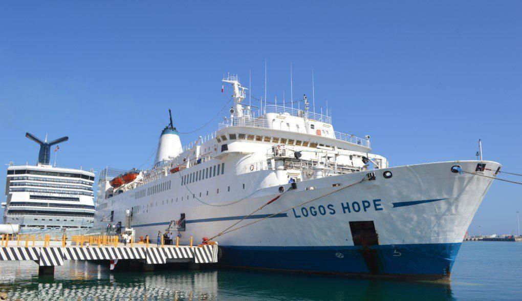 Llega a Yucatán el buque 'Logos Hope