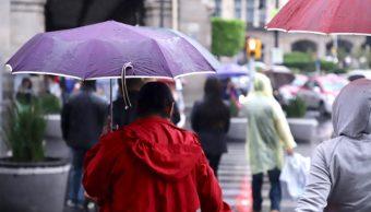 Tarde de lluvia, viento y granizo en la CDMX, reportan autoridades