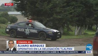 Localizan y rescatan a profesor de la UNAM en Tlalpan