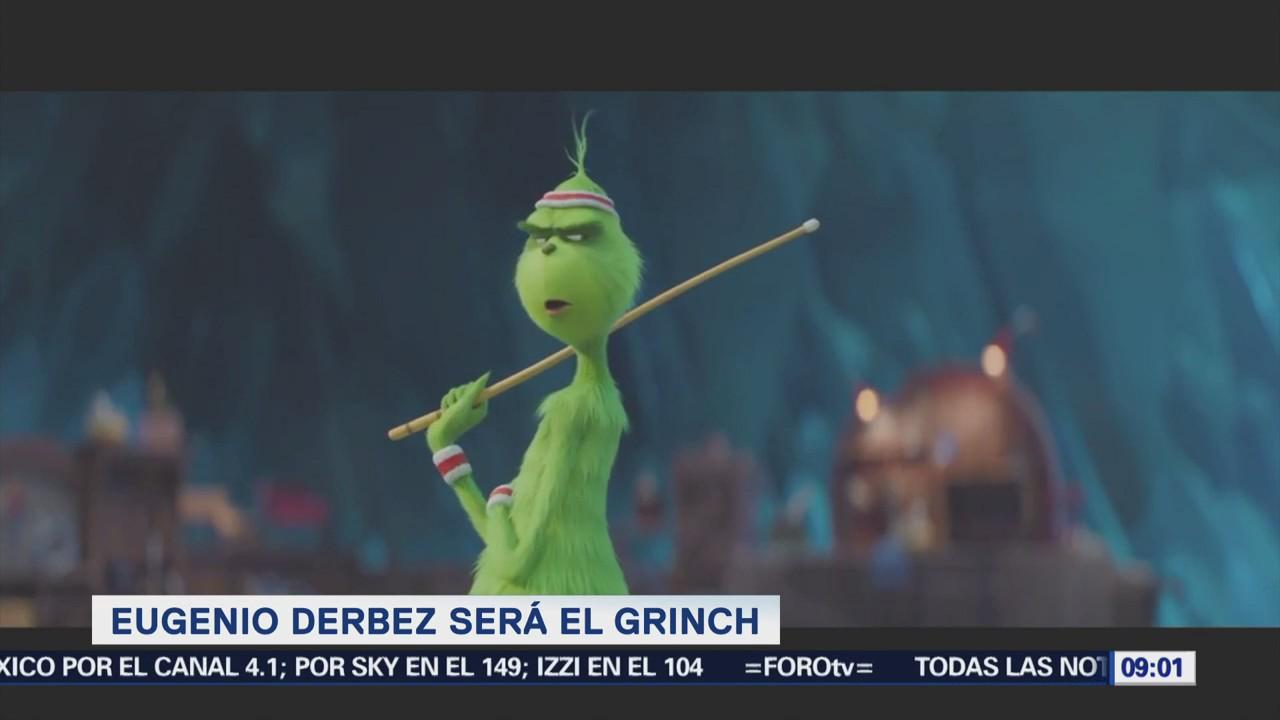 Eugenio Derbez realizará doblaje de Grinch