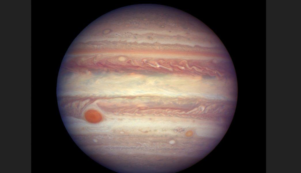 ¿Un delfín en Júpiter? Estas son las espectaculares imágenes