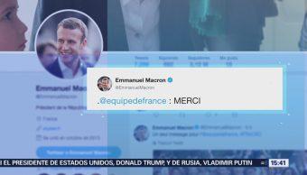 Macron Trump Felicitan Francia Triunfo Mundial Rusia