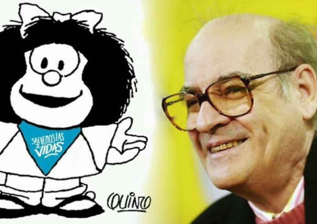 Quino rechaza uso de Mafalda para campana contra el aborto