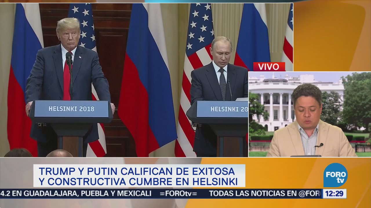 Medios en EU condenan cumbre Trump-Putin