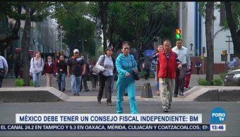 México Debe Tener Consejo Fiscal Independiente Bm
