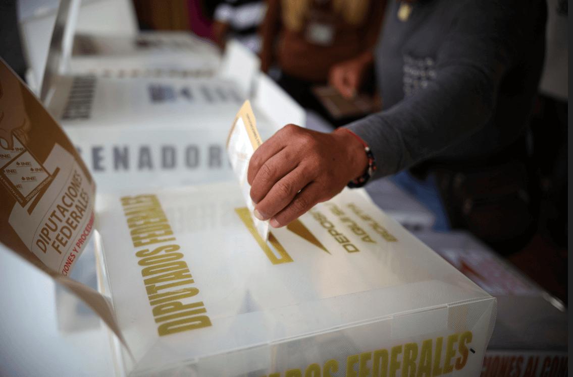 Candidatos a la jefatura de gobierno de la CDMX emiten su voto