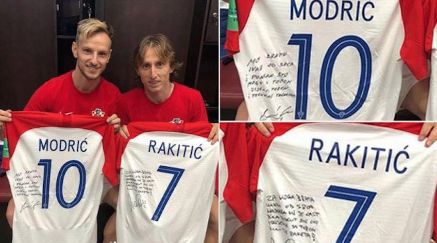 Los conmovedores mensajes entre Modric y Rakitic tras la final del Mundial