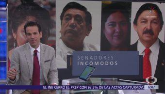 Morena llevará personajes polémicos al Senado
