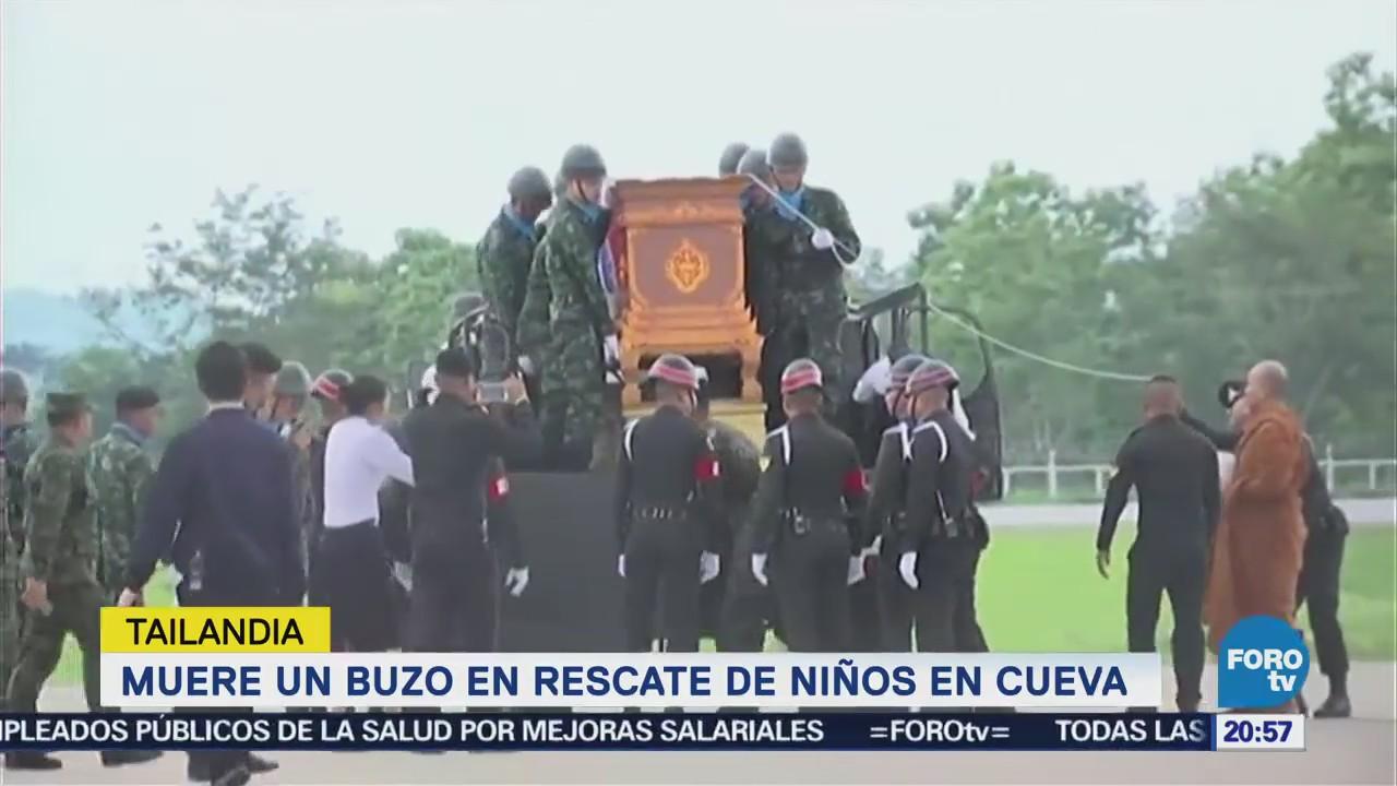 Muere Buzo Rescate Niños Atrapados Cueva