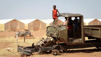 Encuentran a 80 menores sudaneses retenidos