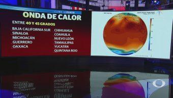 Onda Calor Seguirá Afectando México Clima