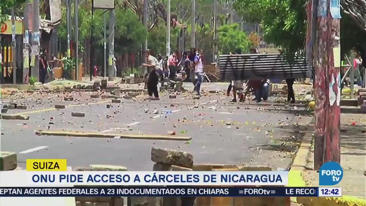 ONU pide al gobierno de Ortega detener violencia en Nicaragua