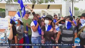 Opositores al gobierno de Daniel Ortega niegan a rendirse