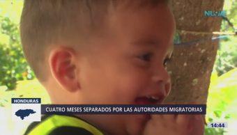 Padre hondureño reúne bebé EU