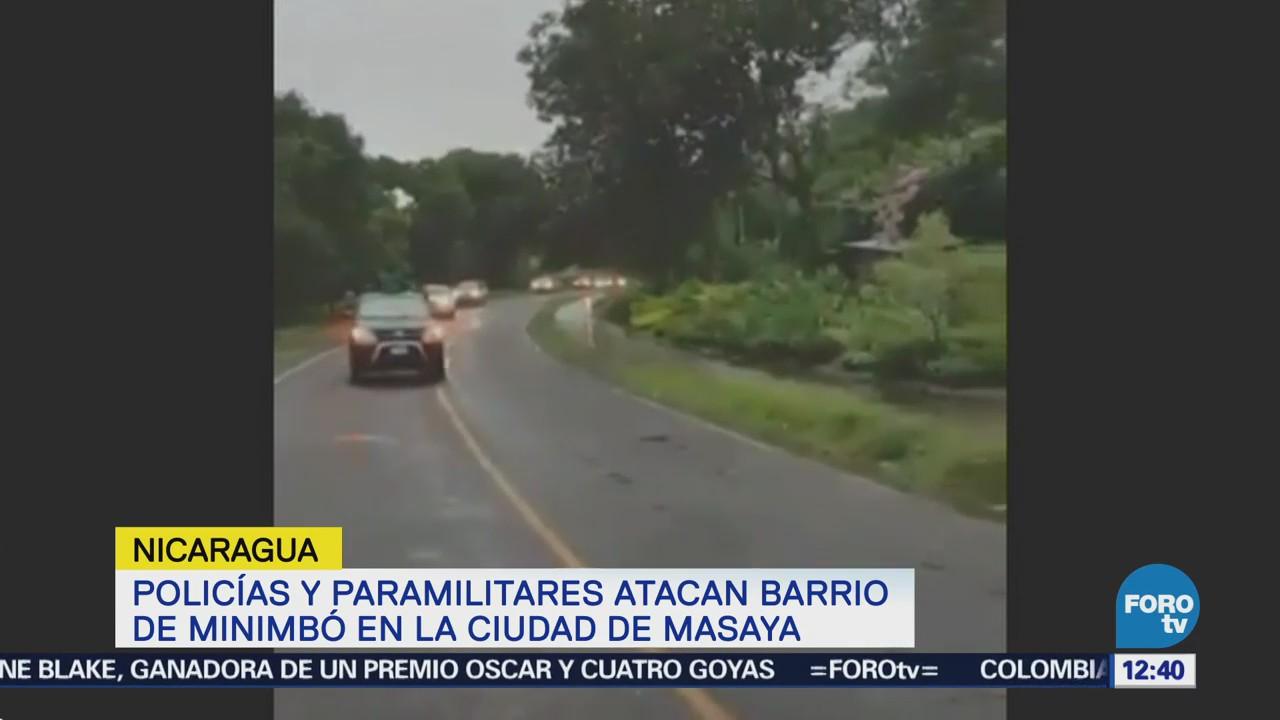 Policías de Nicaragua atacan barrio indígena anti Daniel Ortega