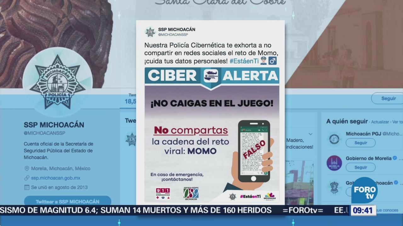 Policía Cibernética Lanza Alerta Nuevo Reto Viral Denominado Momo